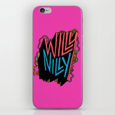 Willy Nilly iPhone & iPod Skin