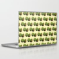 kiwi Laptop & iPad Skins featuring Kiwi by Sara Soto