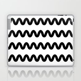 Squiggle pattern Laptop & iPad Skin
