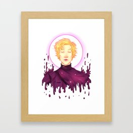 Captain of the Galaxy Framed Art Print