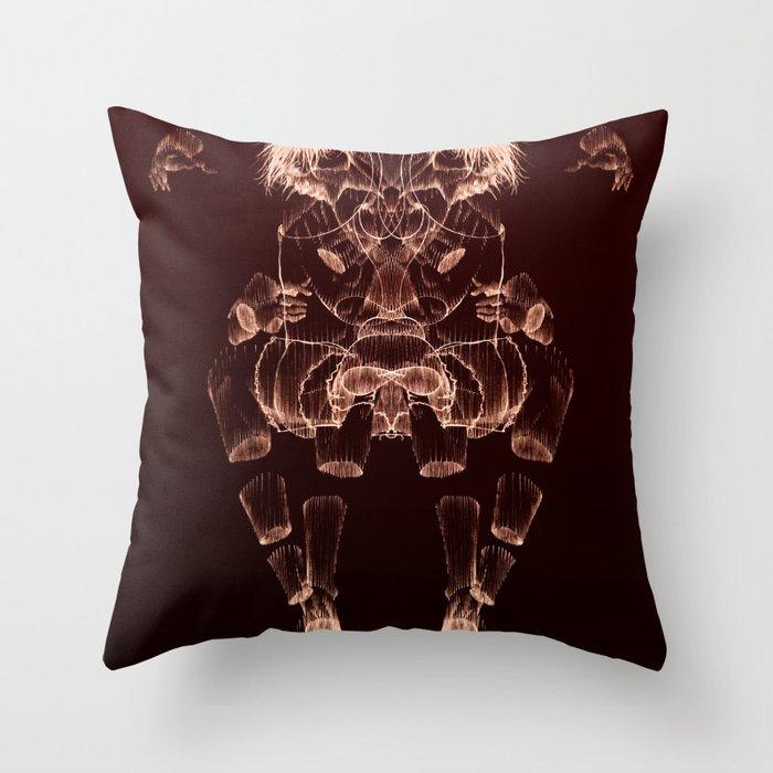 The Beast Inside 2 Throw Pillow