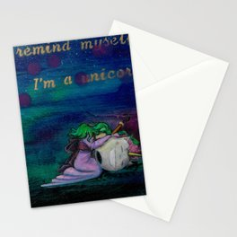 I am a Unicorn Stationery Cards