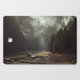 Foggy Forest Creek Cutting Board