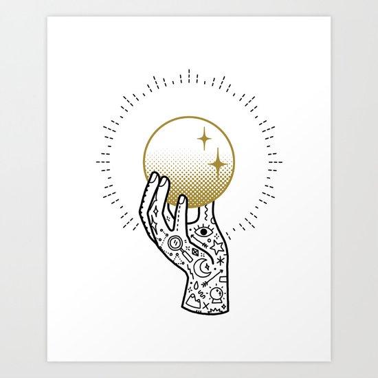 Seek Art Print