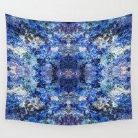 underwater Wall Tapestries featuring Underwater by Angela Fanton