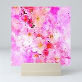 japanese cherry blossom wsstd Mini Art Print