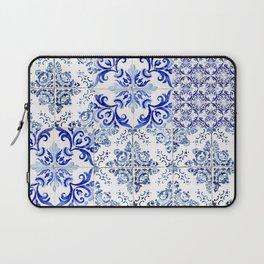 Azulejo VIII - Portuguese hand painted tiles Laptop Sleeve