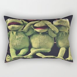 Kermit - Green Frog Rectangular Pillow