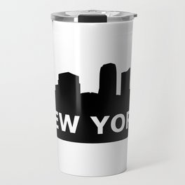 New York Skyline Travel Mug