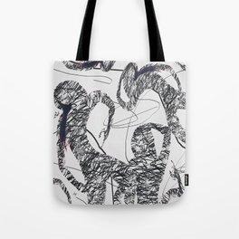 Calligraphy Dance Tote Bag