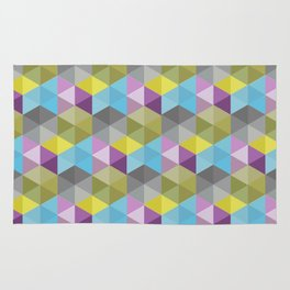Tangrams Pattern Rug