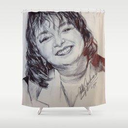 ROSEANNE BARR Shower Curtain