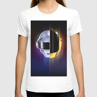 daft punk T-shirts featuring Daft Punk by Alevan