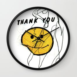 Thanks for Nothing Wall Clock