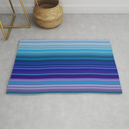 50 Shades of BLUE - Living Hell Rug