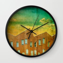 Metaphysical Landscape Wall Clock