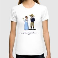 pride and prejudice T-shirts featuring Pride and Prejudice and Tacos by mikaelak