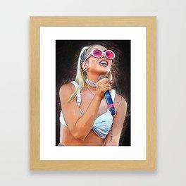 Kali Uchis Framed Art Print