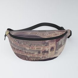Vintage Print - Microcosm of London Plate 066 - Royal Circus (1810) Fanny Pack