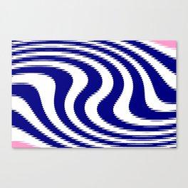Mariniere marinière variation VII Canvas Print
