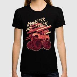 Monster Truck Illustration T-shirt