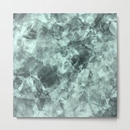 crystal blue Metal Print