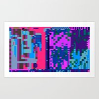 tcanvasmosh45 Art Print