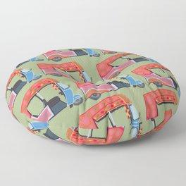 Rickshaw Fever Floor Pillow