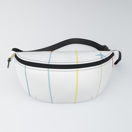 Retro Airplanes Fanny Pack