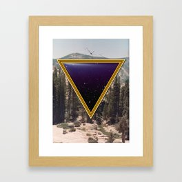 Space Frame Framed Art Print
