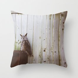 Owl (Montreal, Canada) Throw Pillow