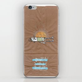 Drink it out of the bottle iPhone Skin