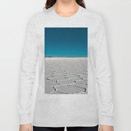 Salt Flats of Salar de Uyuni, Bolivia #2 Long Sleeve T-shirt