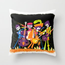 The Lonely Dead Hearts Throw Pillow