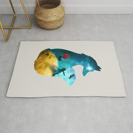 The Most Beautiful Thing (light version) Rug