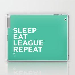 Eat League Sleep Repeat Laptop & iPad Skin