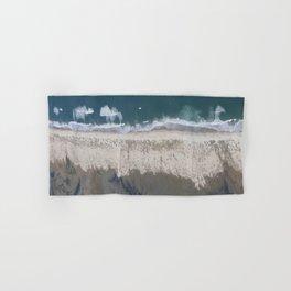 Aerial Beach Photograph: Masonboro Island | Wrightsville Beach NC Hand & Bath Towel