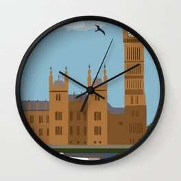 Big Ben and Houses of Parliament Wall Clock