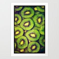 Kiwi - for iphone Art Print