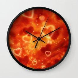 Herz an Herz Wall Clock