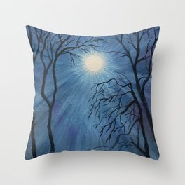 Mysterium Throw Pillow