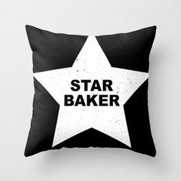Star Baker Throw Pillow