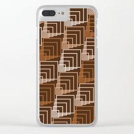 Op Art 114 Clear iPhone Case