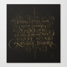 Every Little thing Canvas Print