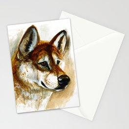 Dingo realistic (c) 2017 Stationery Cards