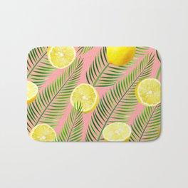 Lemons #society6 #decor #buyart Bath Mat
