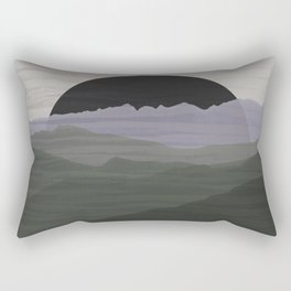 bad moon rising Rectangular Pillow