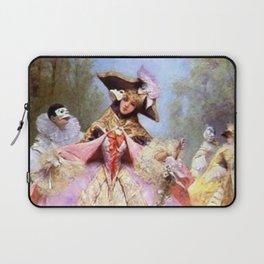 Victorian Masquerade Ball Laptop Sleeve