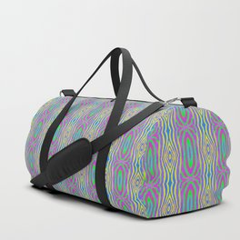 Woodcut Boho Pattern Duffle Bag