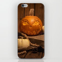Halloween Pumpkin iPhone Skin
